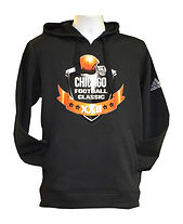 Black hoodie with CFC game logo