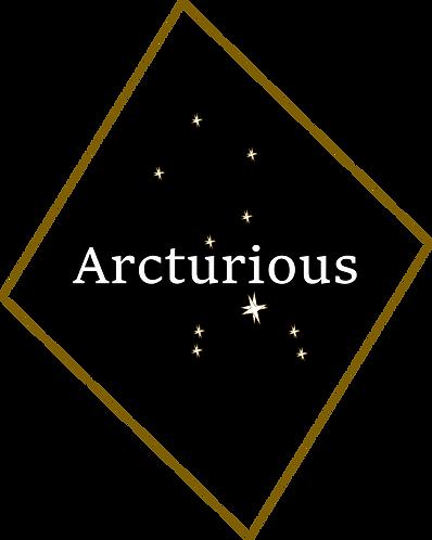 Arcturious logo Skew Constalation big no
