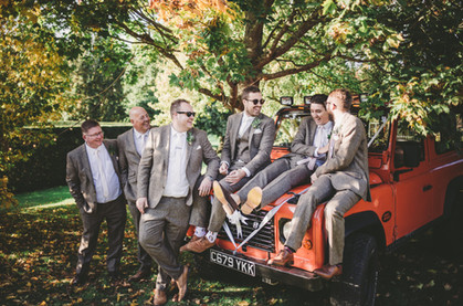 Relaxed Groom photography Marks Hall Essex