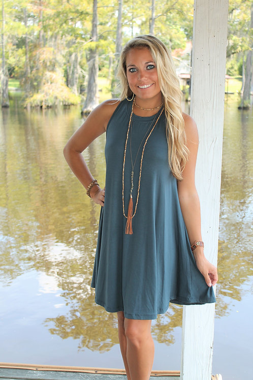 """CRISS CROSS"" Swing Dress"