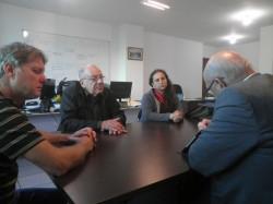 Representantes da SDR e do governo estadual visitam OSBr