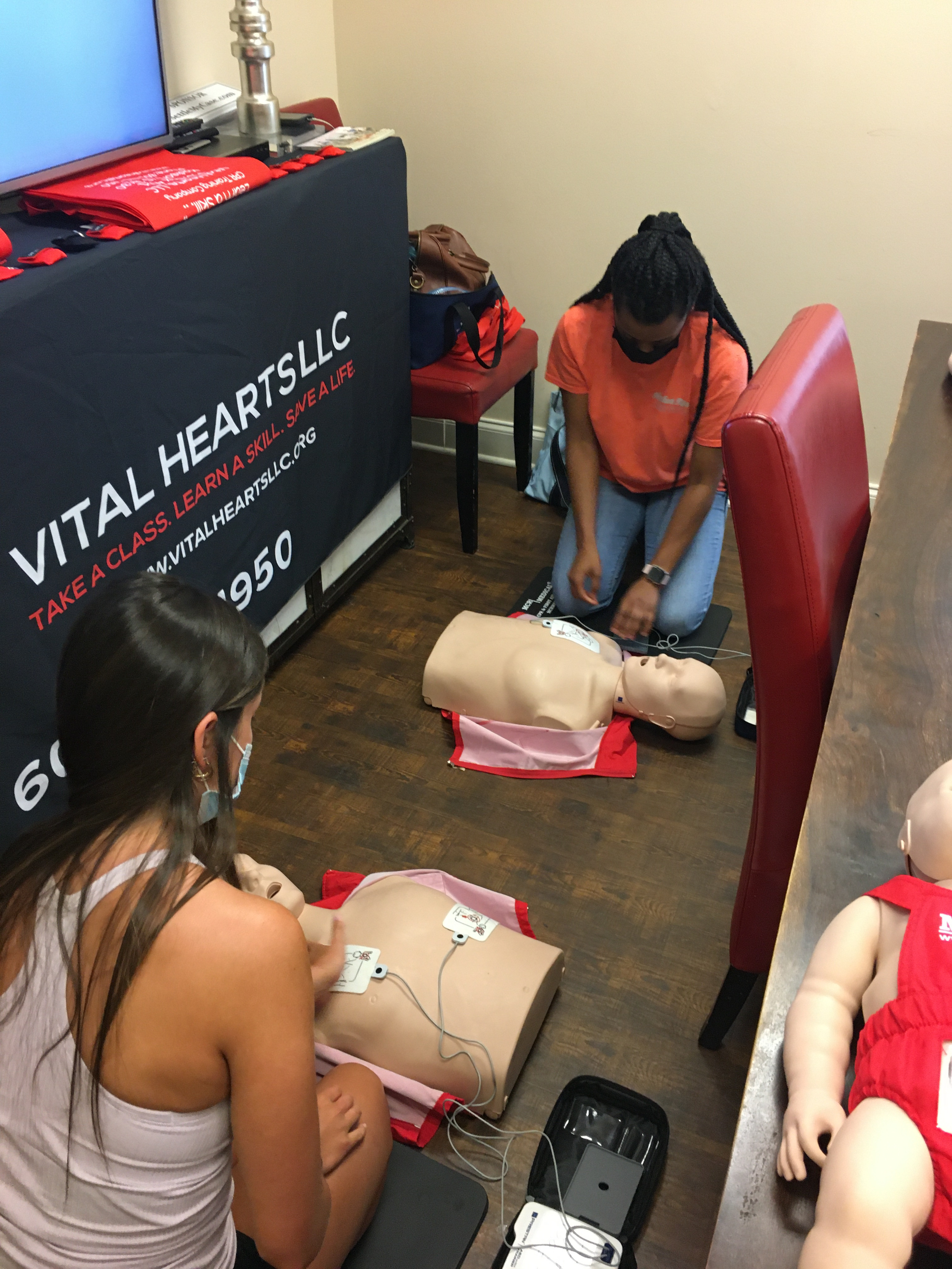 ADULT & PEDIATRIC FA, CPR & AED- BLENDED
