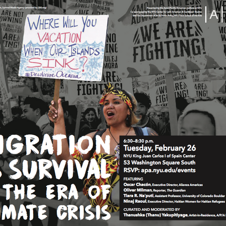 Program: Migration as Survival in the Era of Climate Crisis