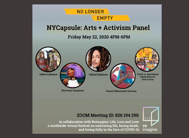 ARTS + ACTIVISM Panel