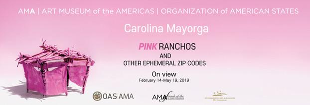 PINK Ranchos and Other Ephemeral Zip Codes by Carolina Mayorga