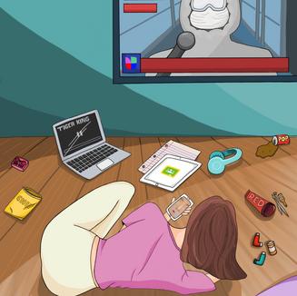 TAMARA BUENO / Screens of Distraction, 2020
