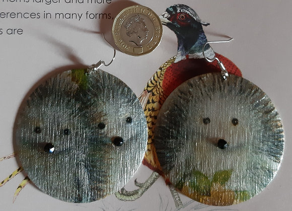 Adorable Hedghogs Earrings