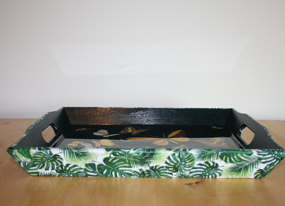 Large Tray Jungle green