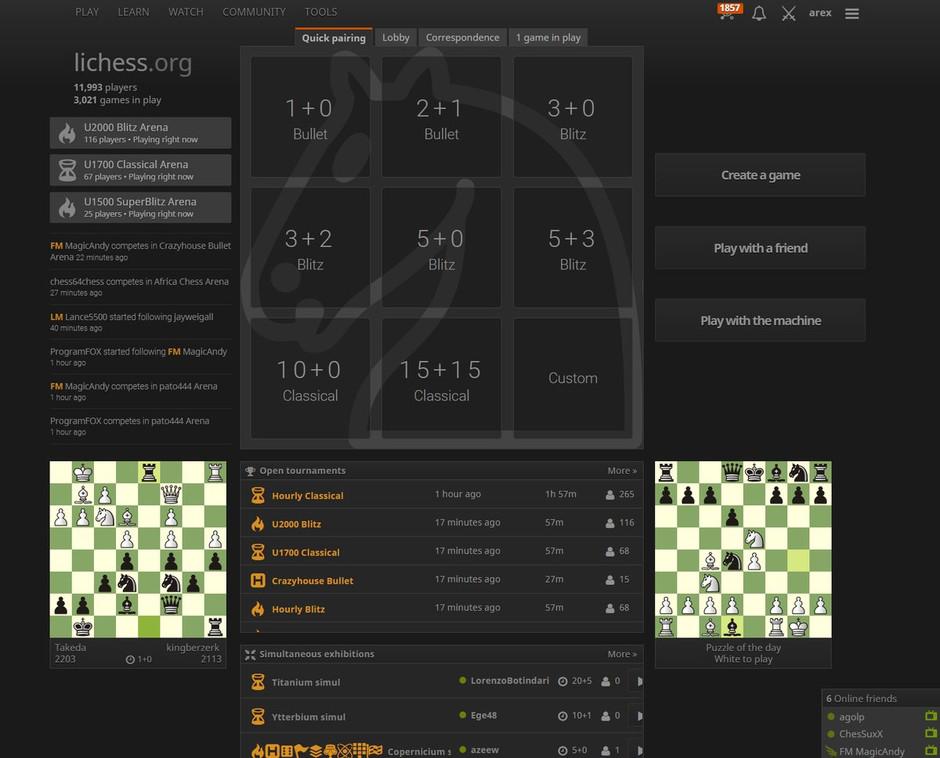 So many chess websites...