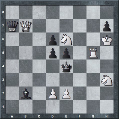 White to move and mate in 2. 5 really, really fiendish puzzles.