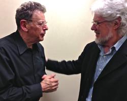 Eric with Phillip Glass