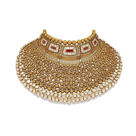 Polki Jewelry Necklace