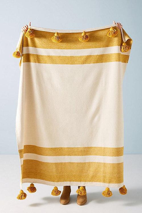 "Плетеный плед из ткани ""Nayland"""