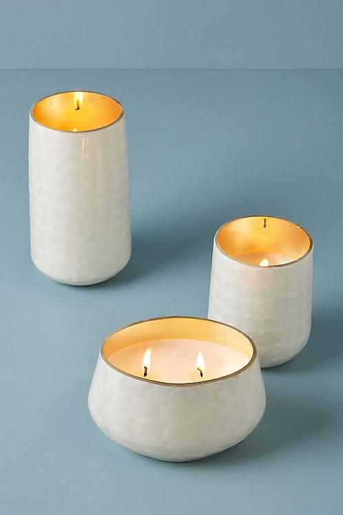 """Стеклянная свеча Capri Blue """"Capiz"""""""