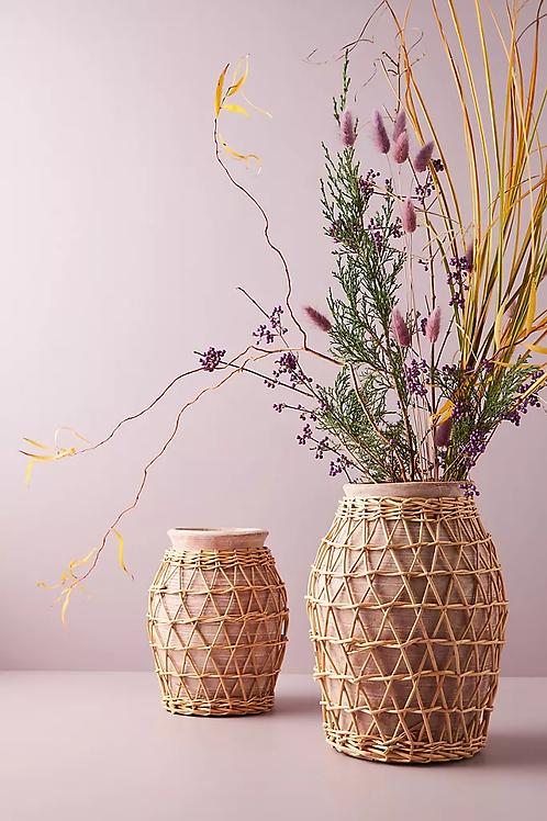 Декоративная ваза из ивы