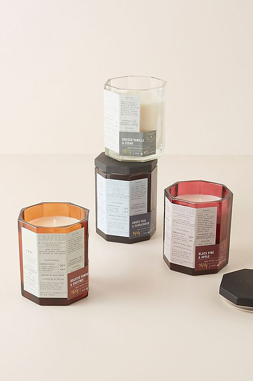 Осенняя стеклянная свеча от Makers of Wax Goods