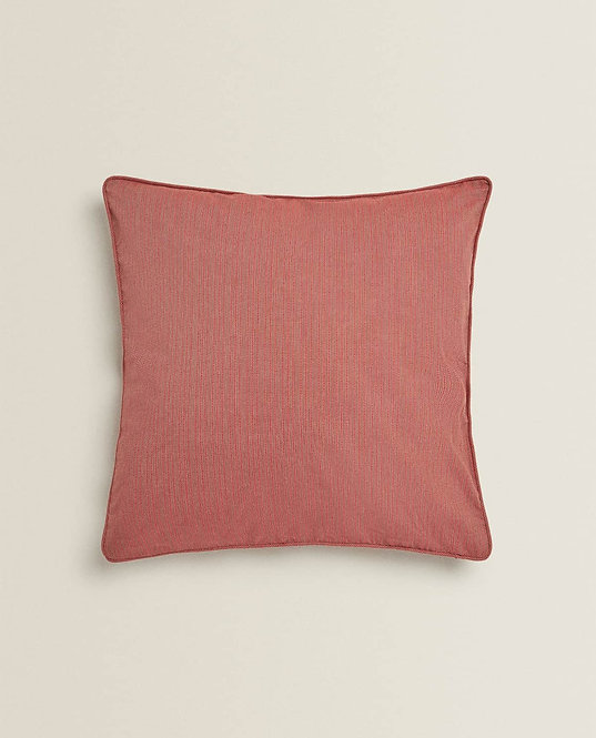 Чехол для декоративной подушки с окантовкой