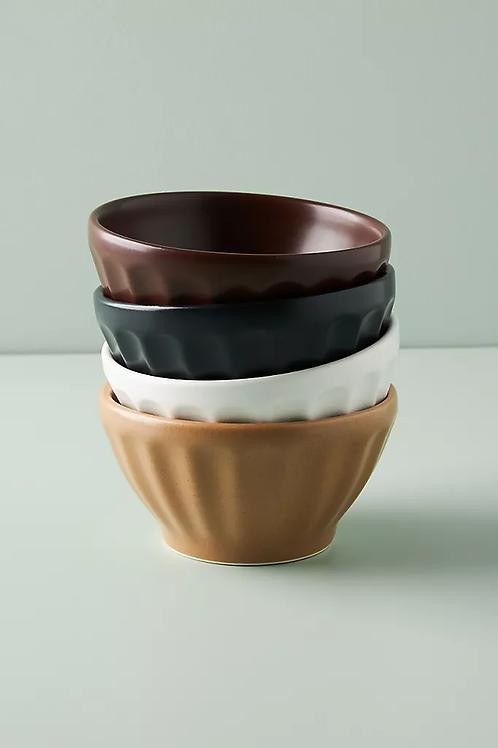 Мини-матовые чаши. Набор из 4