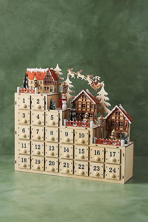 """Рождественский календарь """"Village Advent"""""""