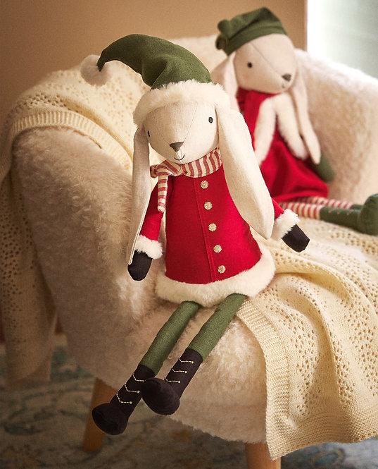 Мягкая игрушка «Кролик-папа»