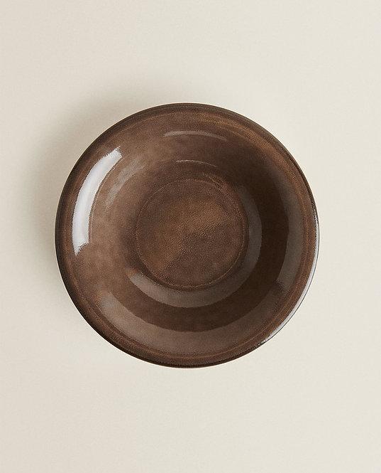 Глубокая тарелка из фаянса