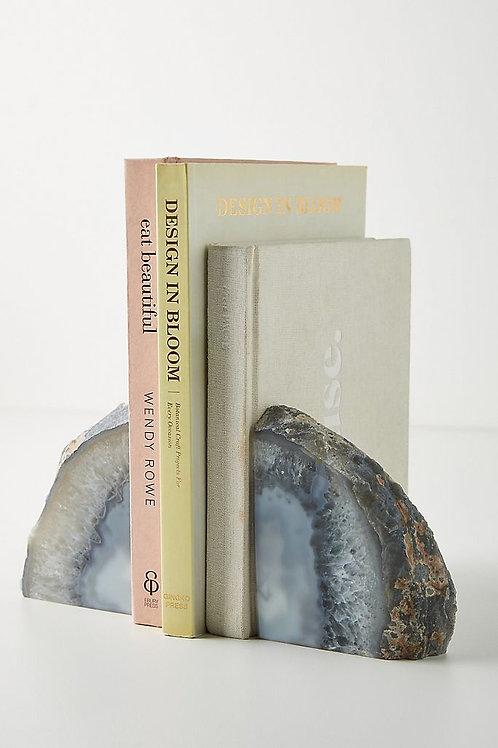 Подставки для книг из кристаллов агата