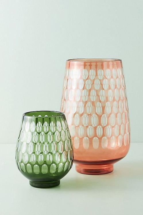 "Гравированная стеклянная ваза ""Saffy"""