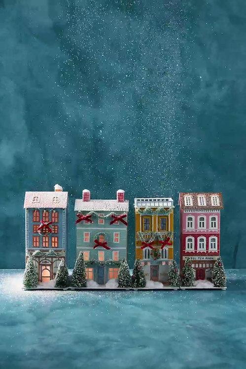 """Рождественское украшение """"Light-Up Holiday Village"""" от George & Viv"""