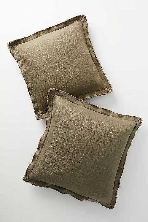 """Подушка из смесового льна """"Luxe"""""""