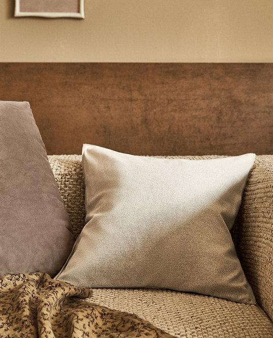 Бархатный чехол для декоративной подушки