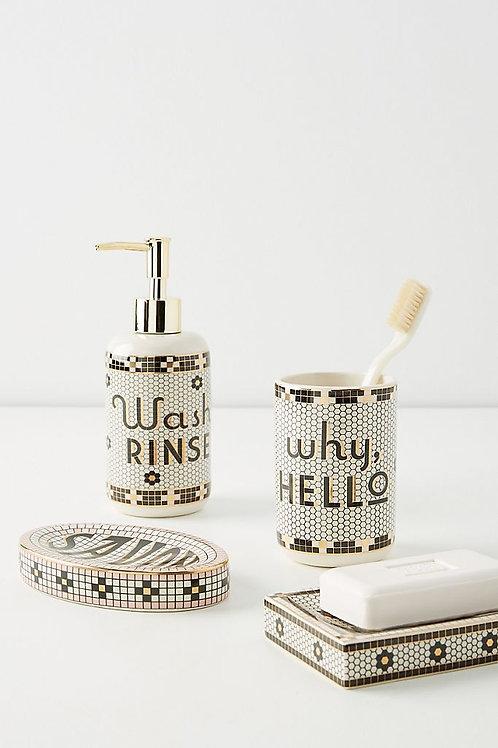 """Коллекция для ванной комнаты """"Bistro Bath"""""""