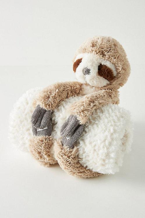 """Детское одеяло с игрушкой """"sloth"""""""