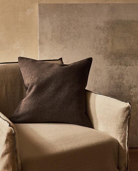 Чехол для декоративной подушки, из фланели