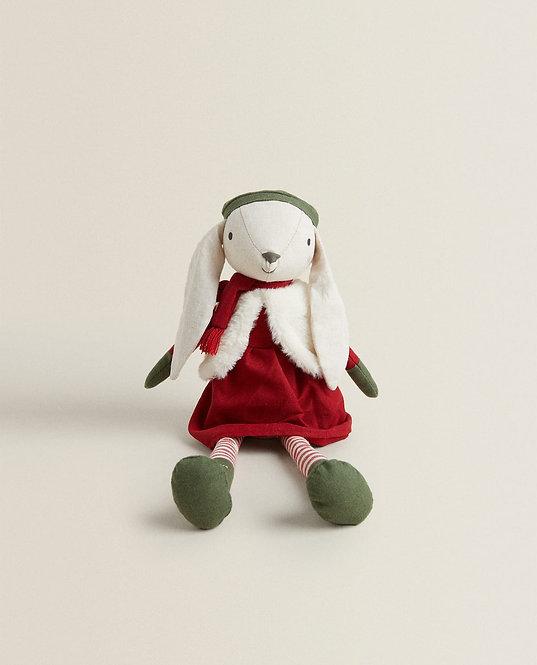 Мягкая игрушка «Зайка-мама»