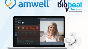 Biobeat Partner with Amwell - one of the world's leaders in Telemedicine