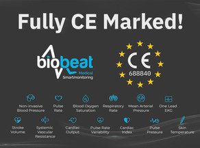 Received a Full CE Mark for our 13 Vital Signs and System