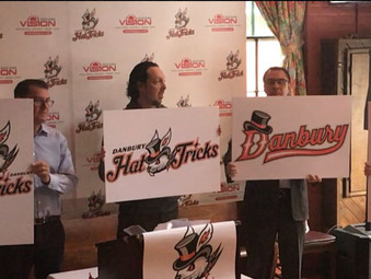 DANBURY HAT TRICKS PRO HOCKEY TEAM UNVEILED, COACH ANNOUNCED