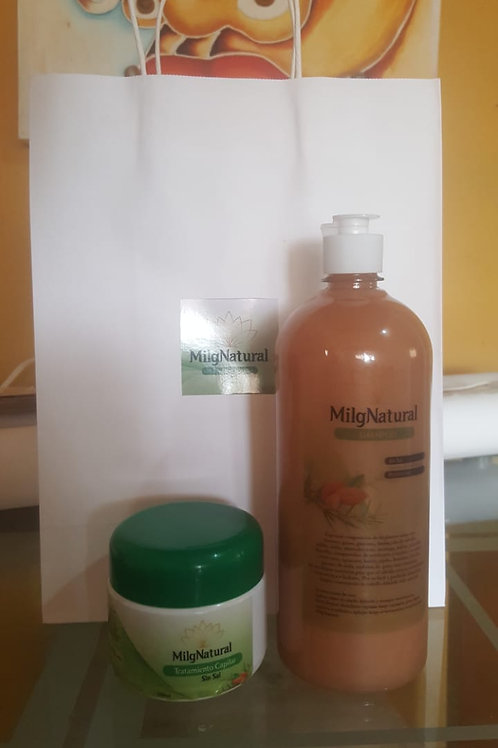 Shampoo +Tratamiento Capilar sin Sal