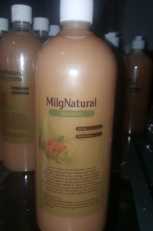 Shampoo sin sal ni conservantes