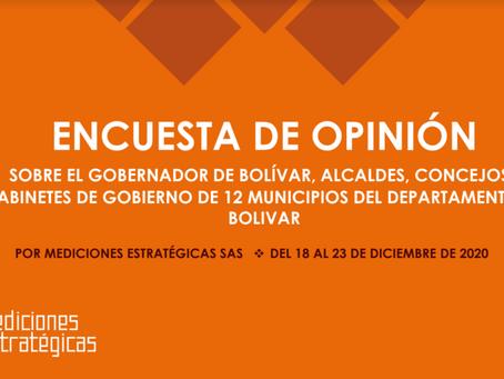 ¿Cómo les fue a los alcaldes de Bolívar y al gobernador en su primer año de gobierno?
