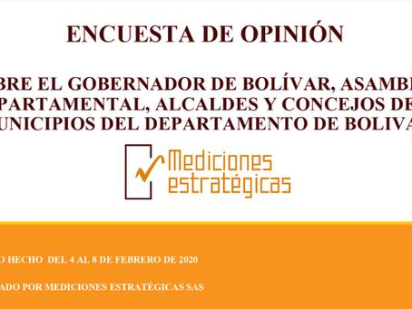Después del primer mes de gobierno, esta es la percepción de las autoridades de Cartagena y Bolívar