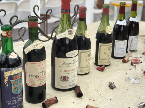 50th Birthday Vintage Wine Pairing Lunch w/Sommelier