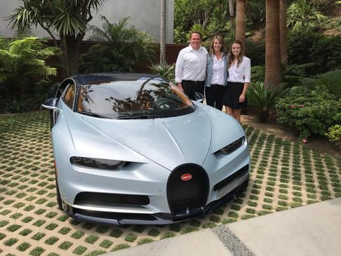 Bugatti Chiron North America Tour, Malibu CA #teamchandler