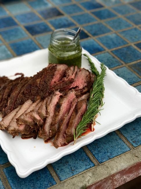 50th Birthday California Prime Tri-tip with Chimichurri