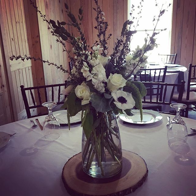 Love this centerpiece. If you need help with your vision for the day let us know! We will be happy t