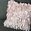 Thumbnail: 16 in. Pink Taffeta Petals Pillow Cover