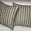 Thumbnail: 18 in Fringe Benefits Pewter Pillow Set