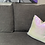 Thumbnail: 16 in. Reversible Holographic Sequin Fabric Pillow Cover