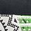 Thumbnail: Tribal Medallion Green Throw & Mini Lumbar Pillow Set