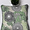 Thumbnail: Tribal Medallion Green Throw & Mini Lumbar Pillow Set